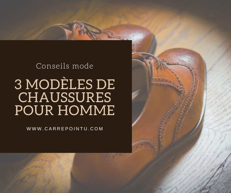 Chaussures homme automne 2019