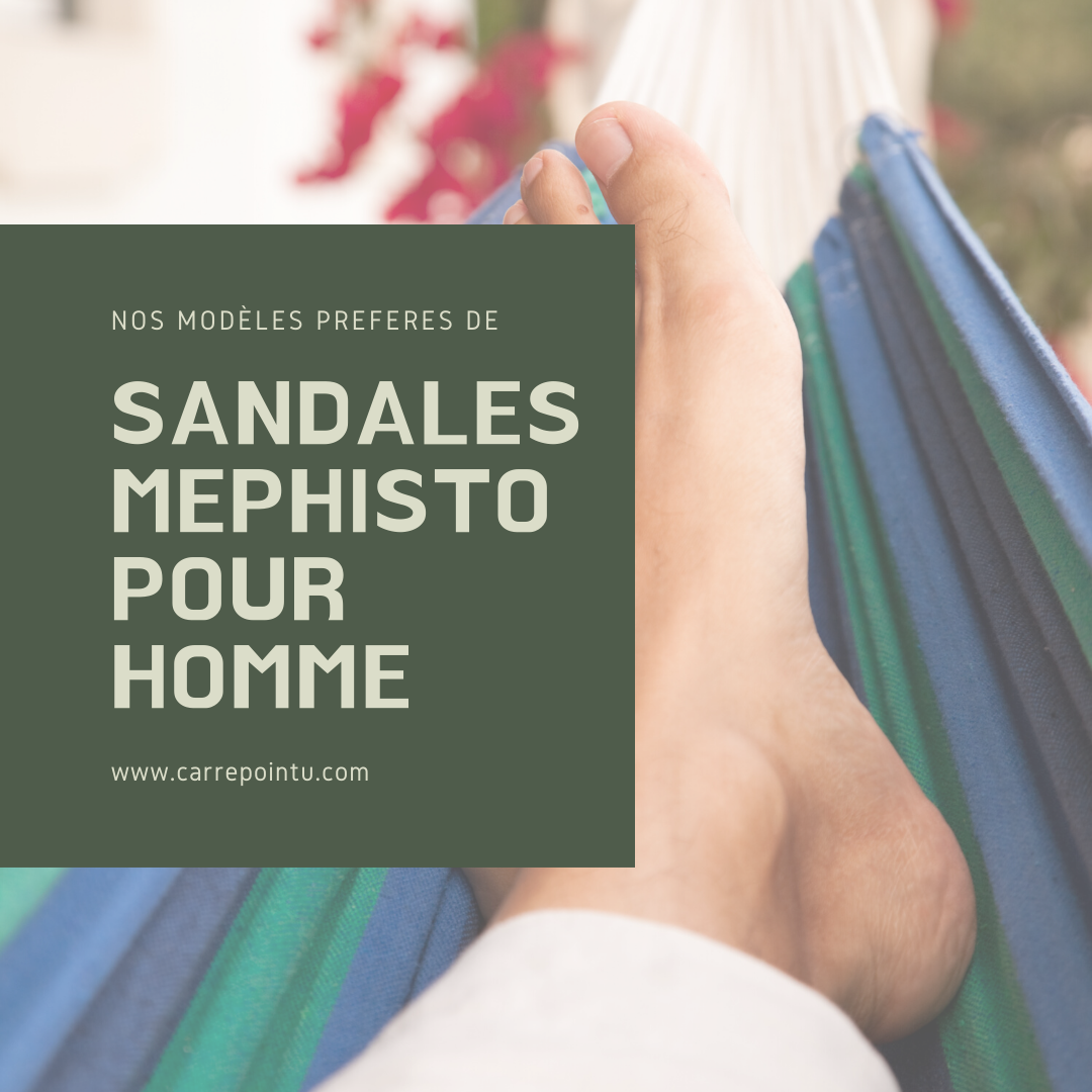 sandales mephisto pour homme